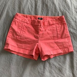 J. Crew Coral Shorts Size 28 Stretch Style# 13663